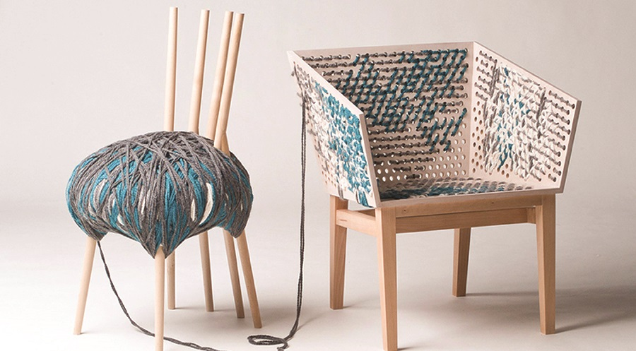 The Discovery of Slowness/ Woolly and Stitch Chairs (by Susanne Westphal)