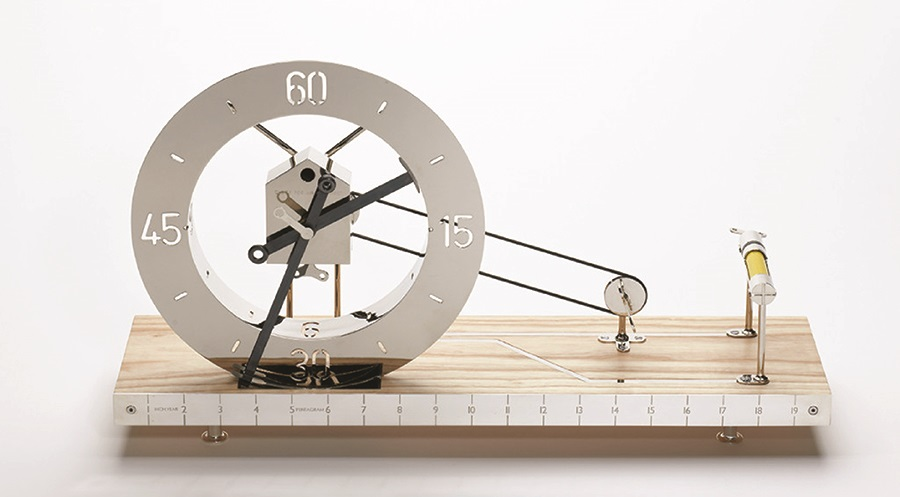 Clock for an architect (by Daniel Weil)