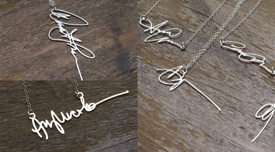 Signature Necklace (by Brevity)